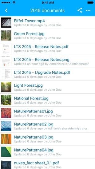 List assets