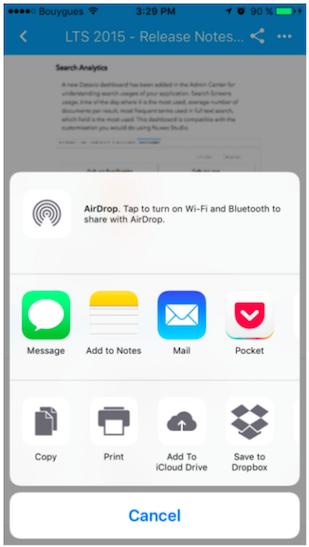 Open Directly in App