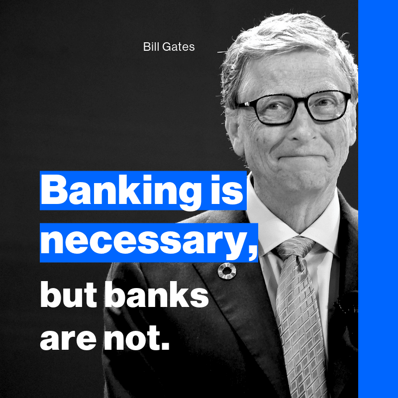 Bill Gates Banking