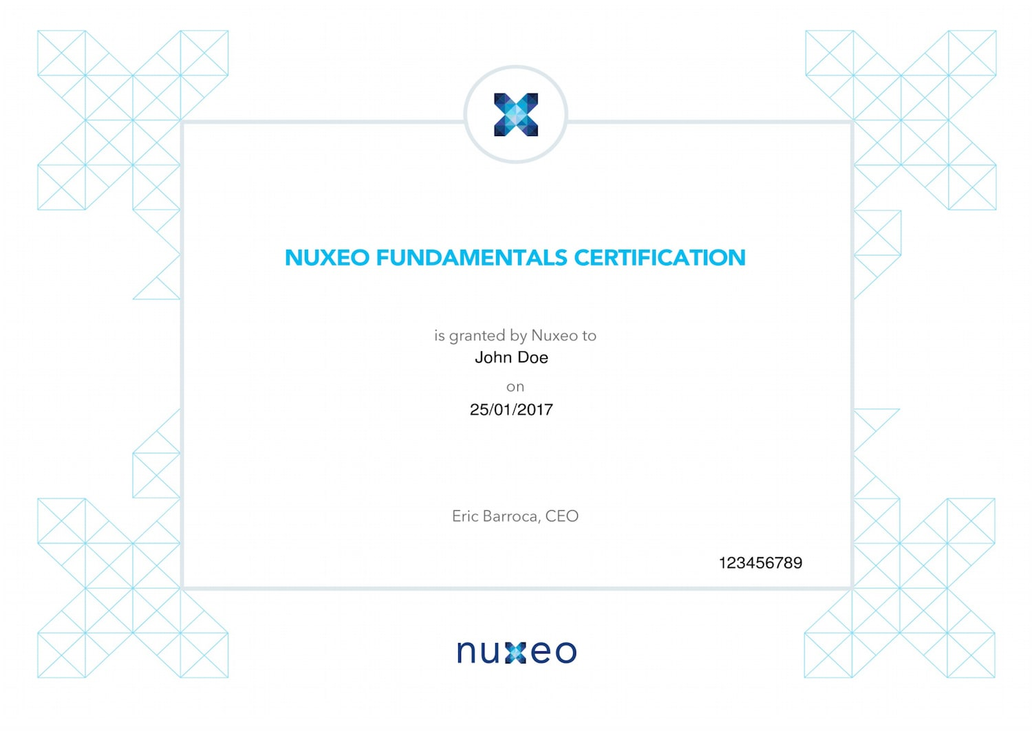 nuxeo certification