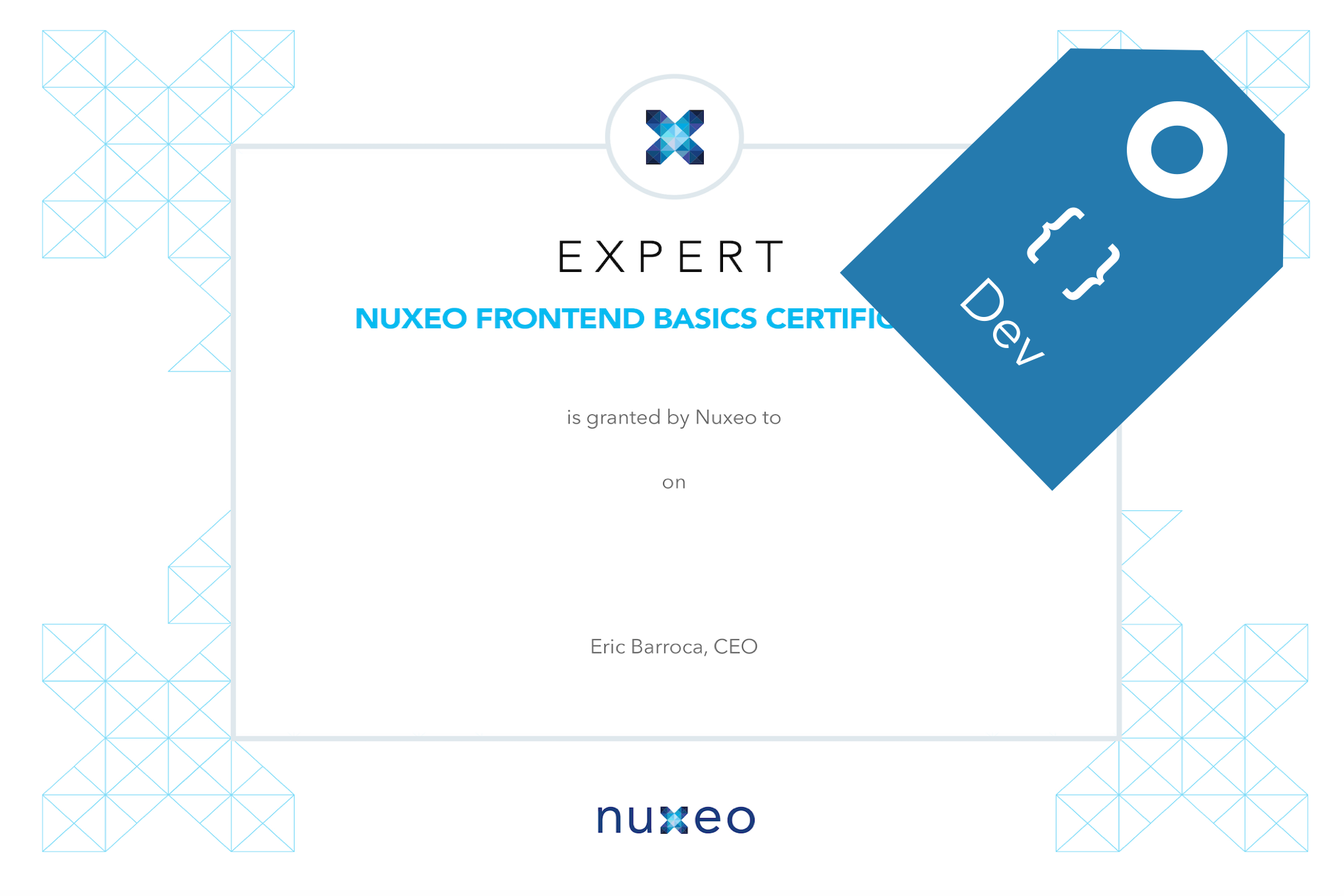 Nuxeo Frontend Basics Certification