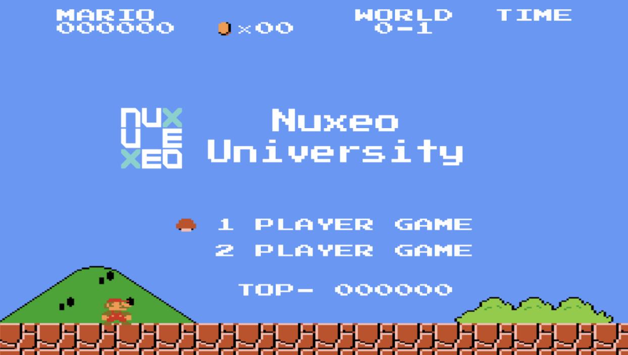 Nuxeo University Mario Bros