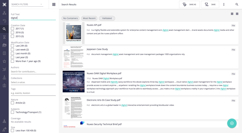 Nuxeo WebUI