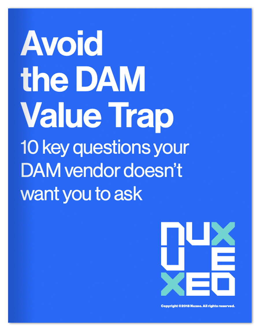 Avoid the dam value trap nuxeo avoid the dam value trap fandeluxe Choice Image