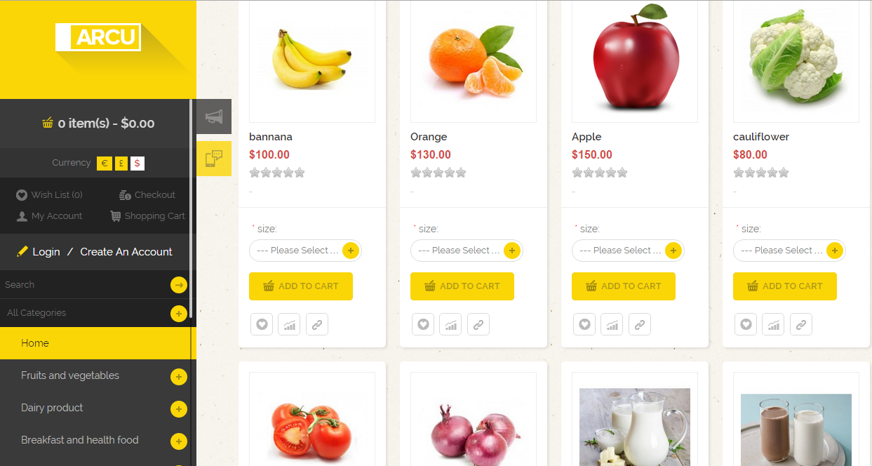 Grocery store provider in india nwebkart creates for Design store online