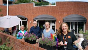 Regnbuetreff med Fri - for seniorer