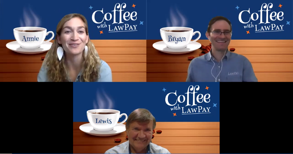 Coffee with LawPay