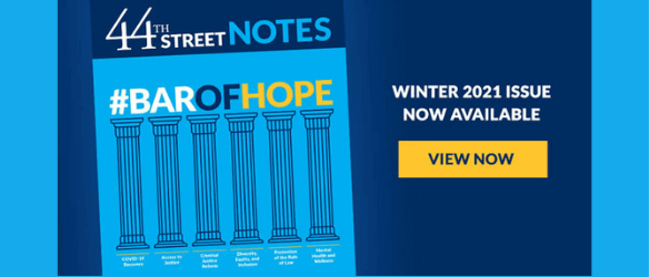 44th Street Notes Winter 2021 - Rotating