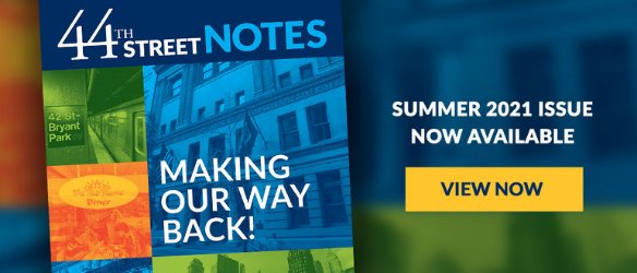 44th Street Notes Summer 2021 - Rotating