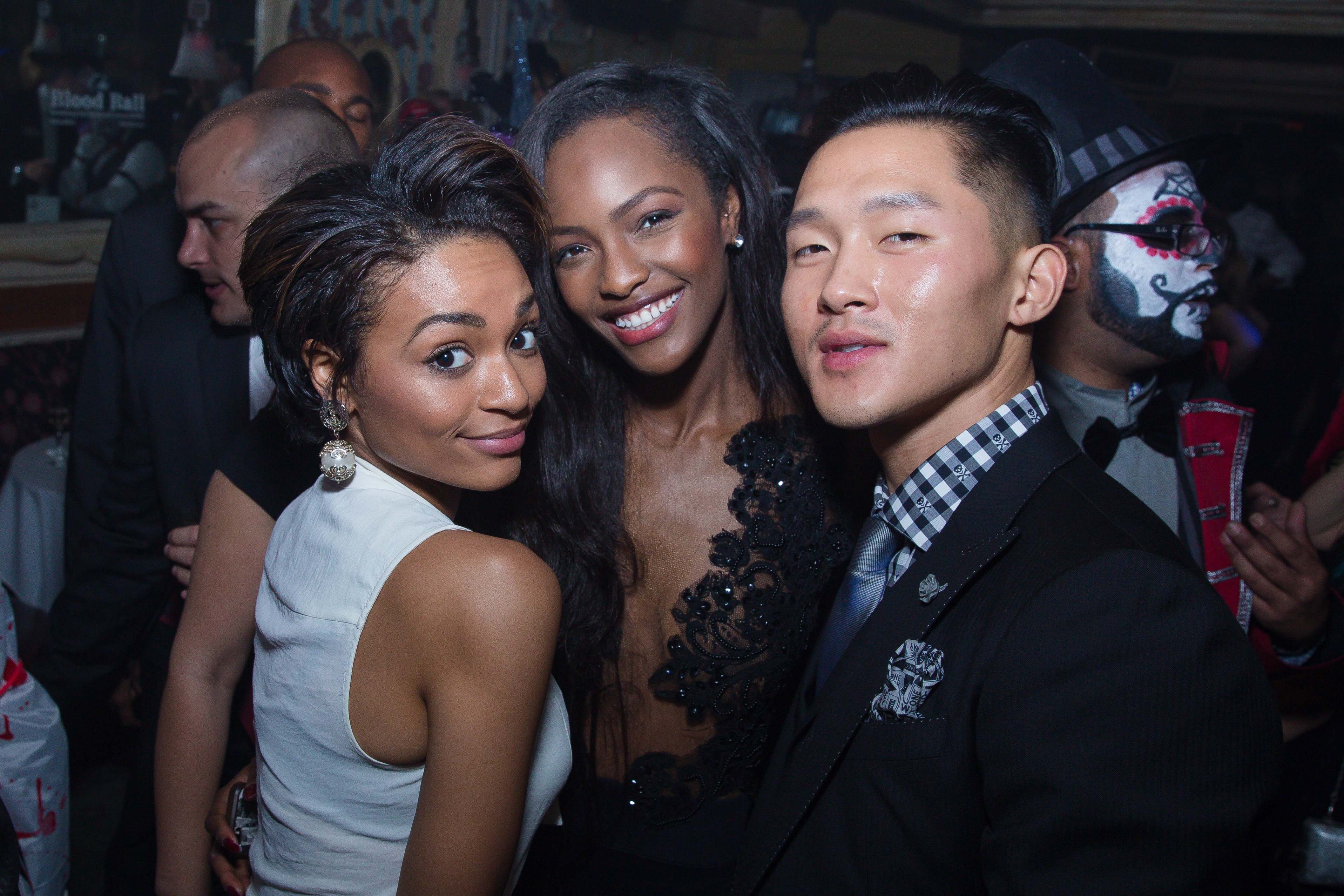 Ashley Molina, Mame Adjei, and Justin Kim