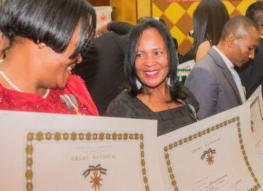50ème Anniversaire: remise de distinction aux salariés