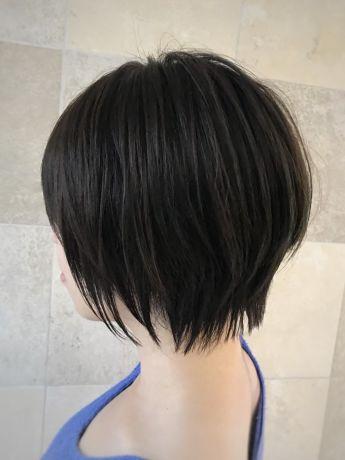 髪の量が多い方