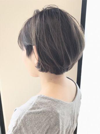 【暗めイルミナカラー】アッシュグレー