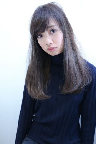 【NYNY】ネイビーたっぷりな艶髪ストレート