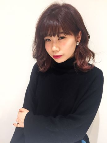【NYNY】ピンクストロベリーなガーリースタイル