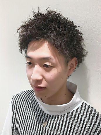 【ソフトスパイラルパーマ】