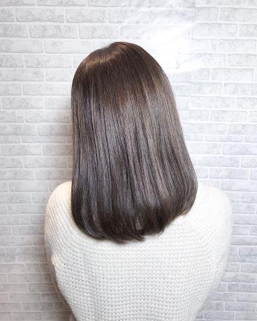 【オーダーストレート】ツヤ感アップソフトストレートヘア