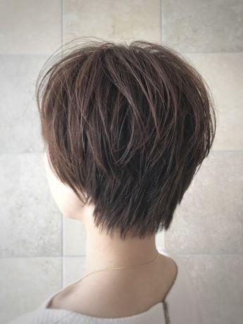 濡れ髪ショート