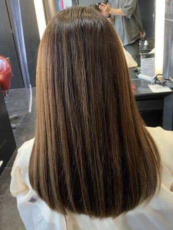 【NYNY 岩破】細めハイライトで髪色改善