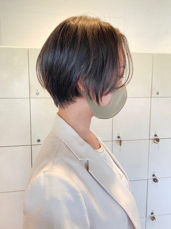 ナチュラルショートヘア♪