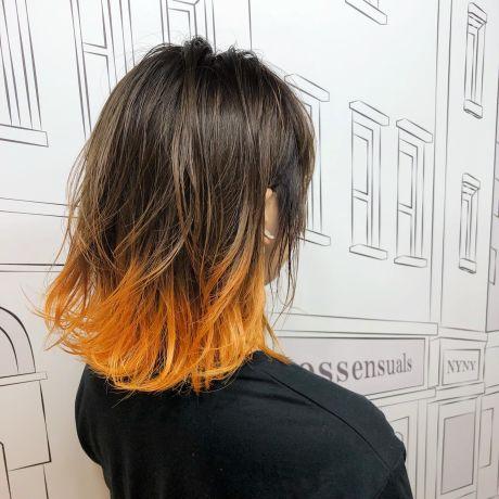 テールカラー×オレンジ