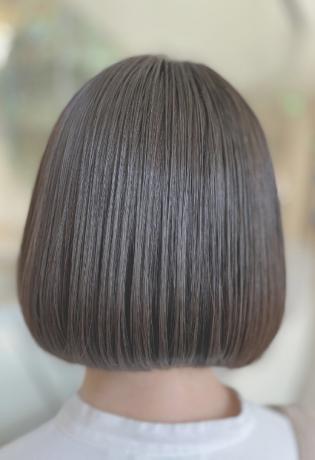 王道ボブの艶髪スタイル