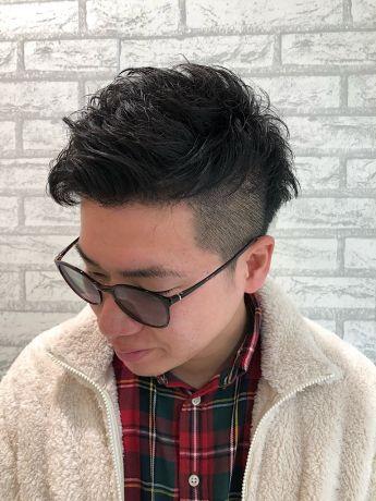 アリミノグリースのスパイキーヘア