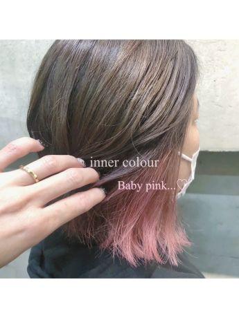 インナーカラー【cassis pink】