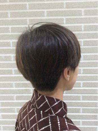 スッキリクールなショートヘア