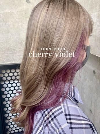 "Inner color""cherry violet"""