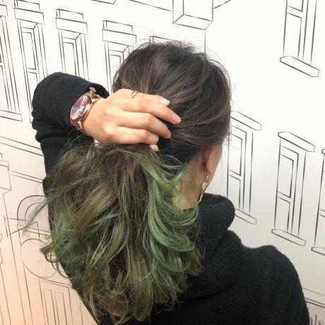 デザインカラー×グリーン