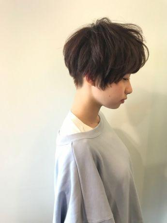 【小顔カット】マッシュショート