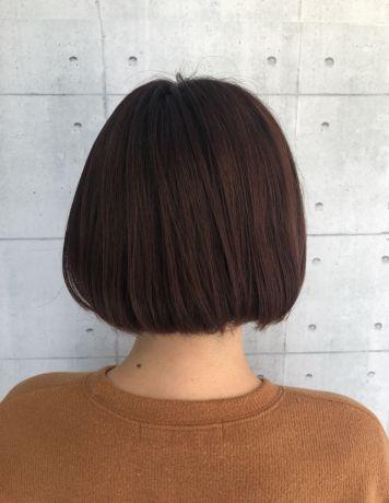 韓国スタイル風 タンバルボブ