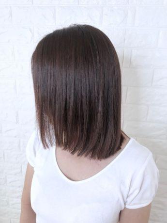 【ハネやすい方はおすすめ】美髪ストレート