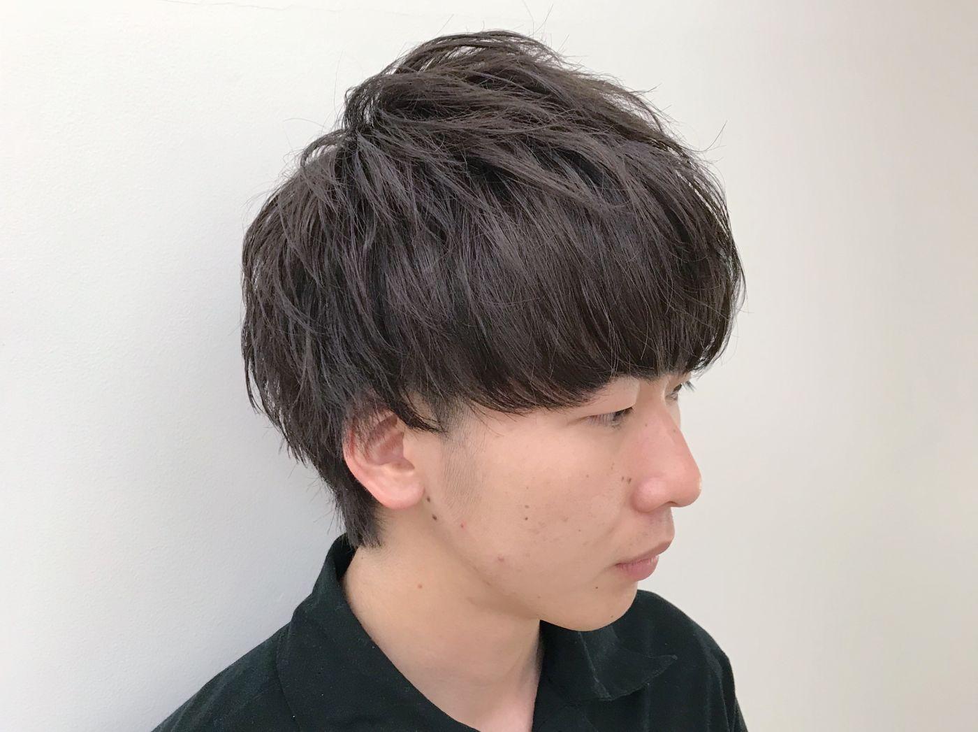 3.モテ髪マッシュ