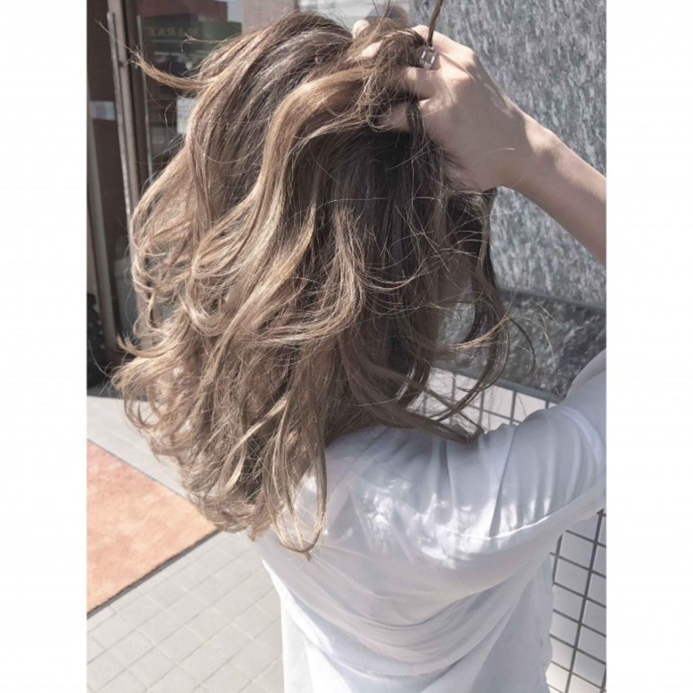 ■活用例③ 髪のダメージに考慮しながら、ダブルカラー
