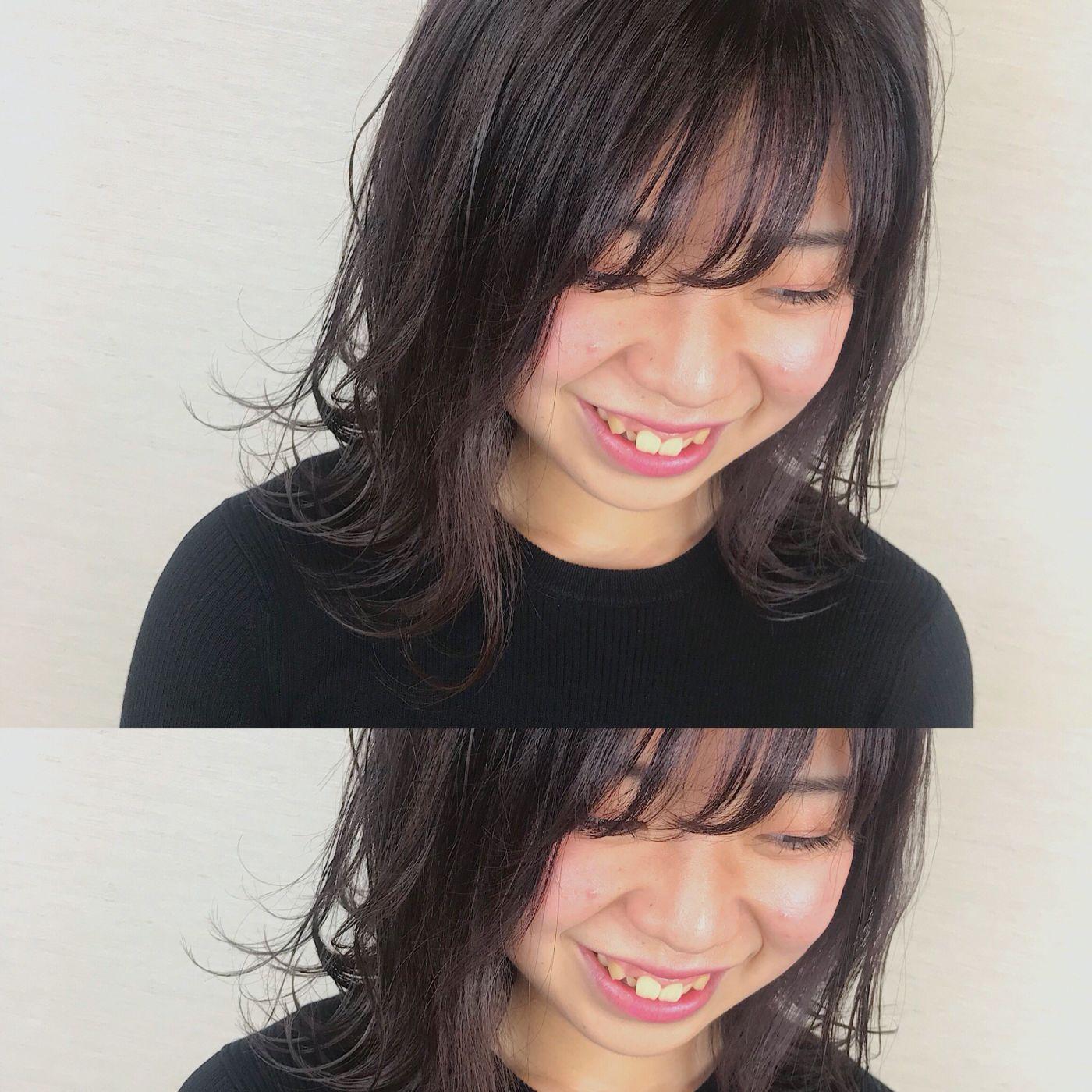 風が吹いても、可愛く揺れる髪に。