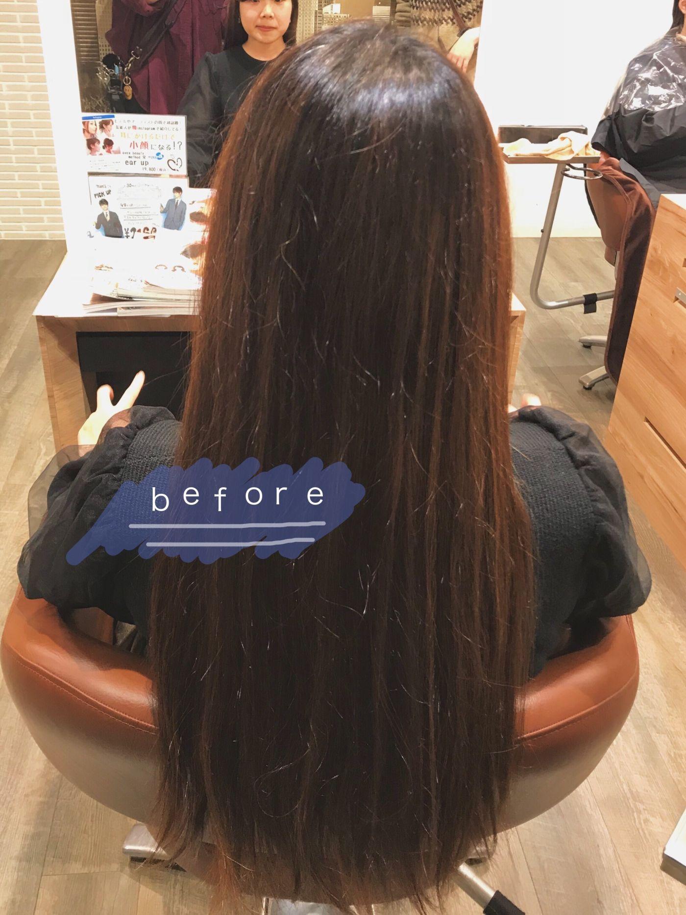 ①ウィッグにできる髪の毛の条件