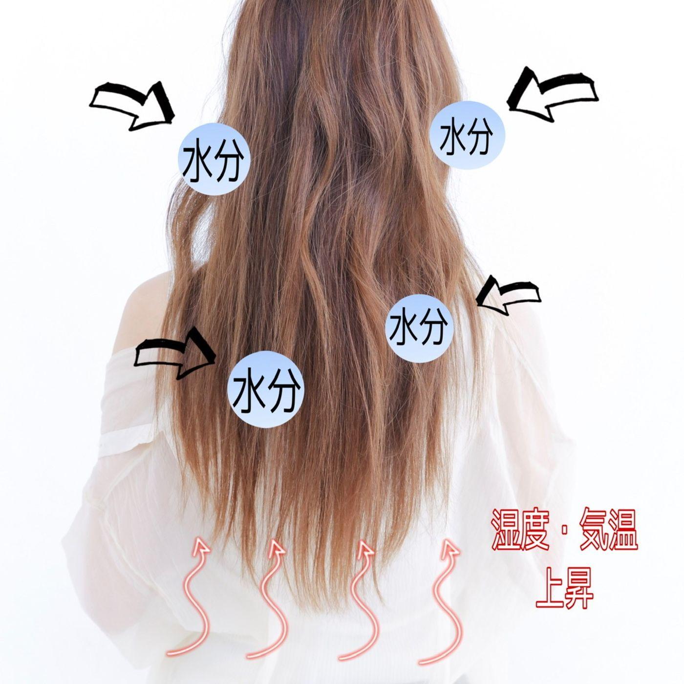 なぜ髪の毛が広がる??ゴワつく??