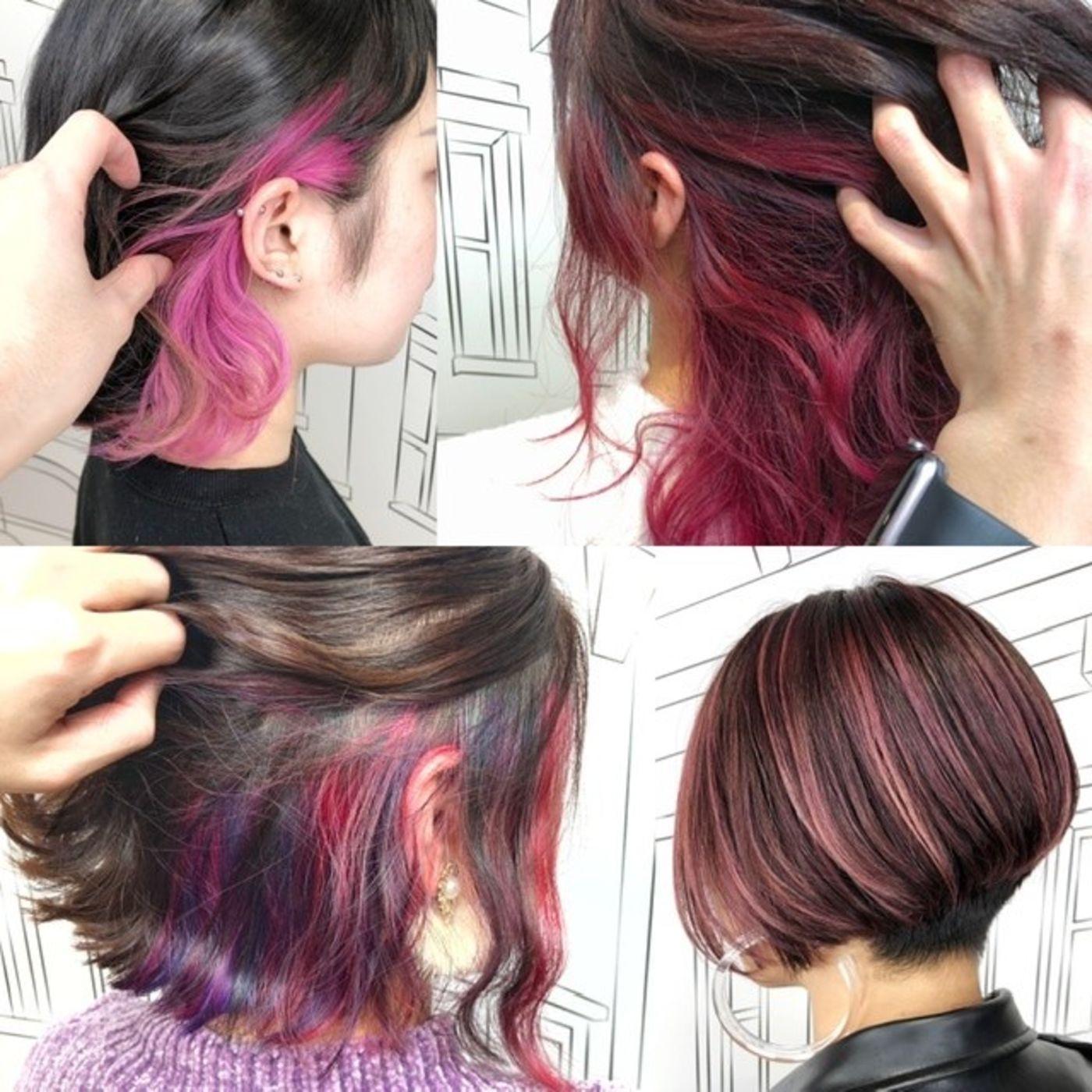 一般の方がしてみたい派手髪は『ピンク』