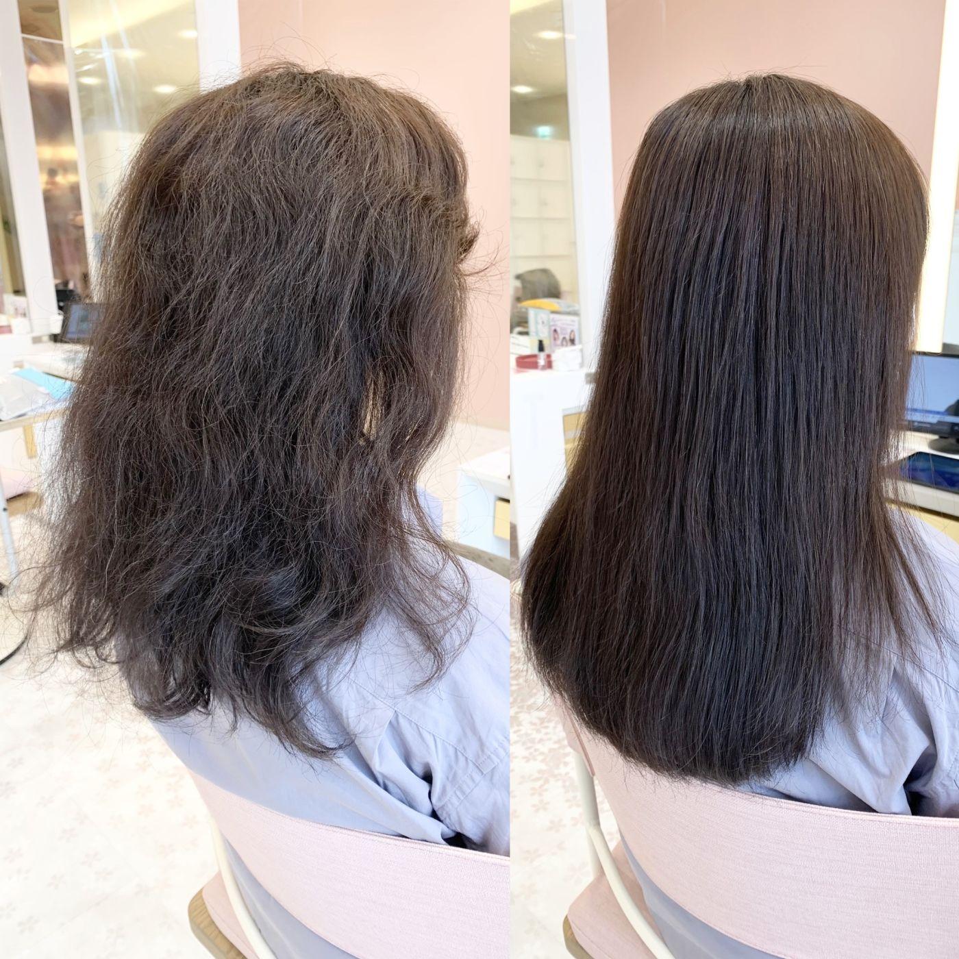 ・髪質改善縮毛矯正(エイジング毛用)