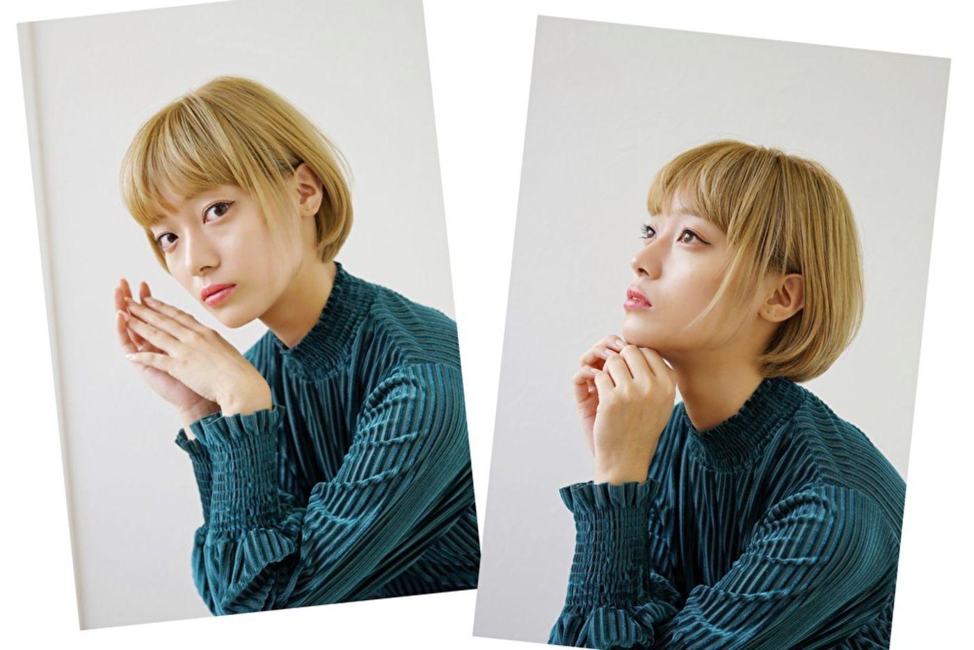 2020秋冬髪型 ①丸みショート