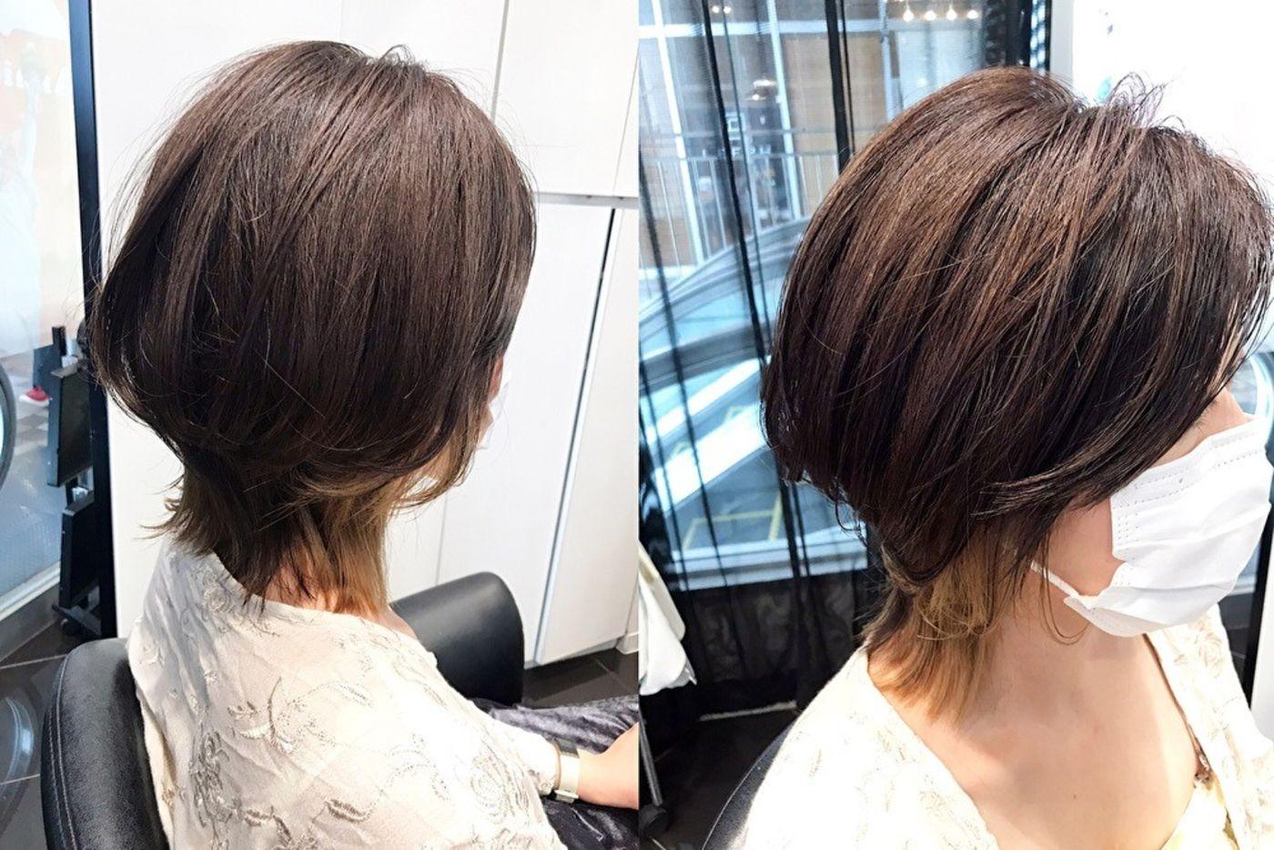 2020秋冬髪型 ②マッシュウルフ