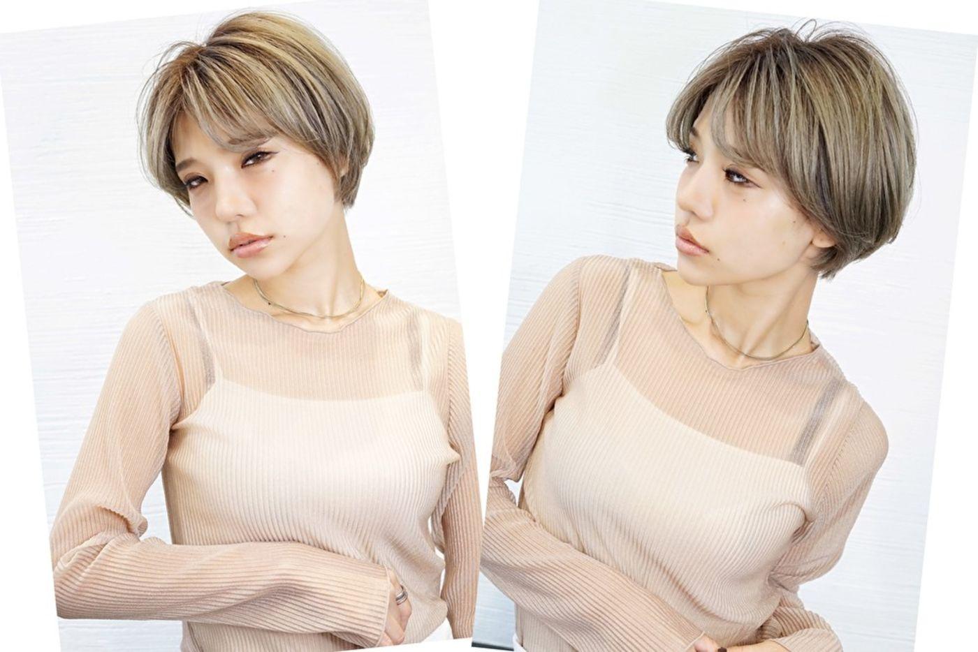 2020秋冬髪型 ⑤韓国風シュートカット