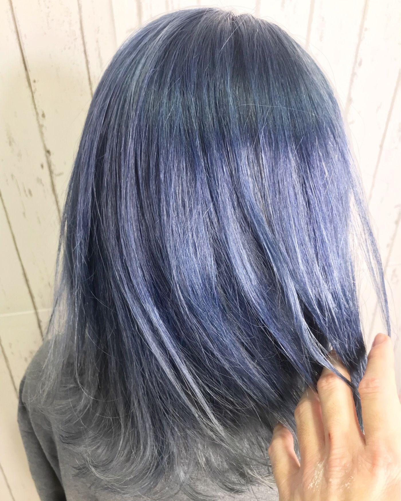 鮮やかな色なら「ブルーカラー」