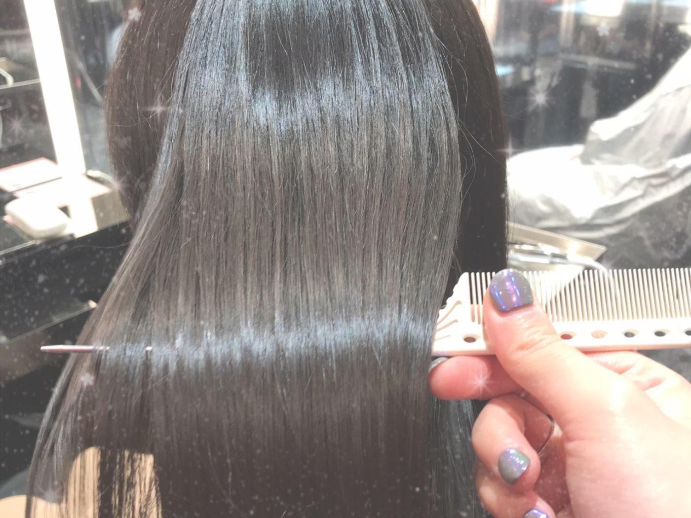 髪が長い方