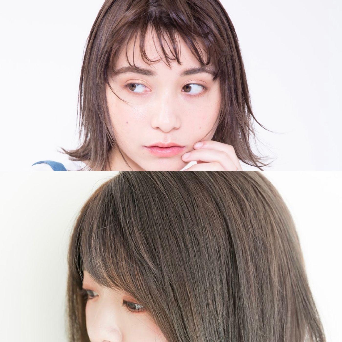 前髪を作る場合