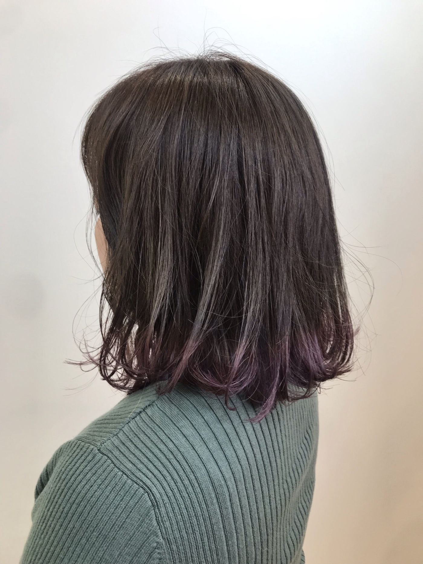 裾カラー -violet-