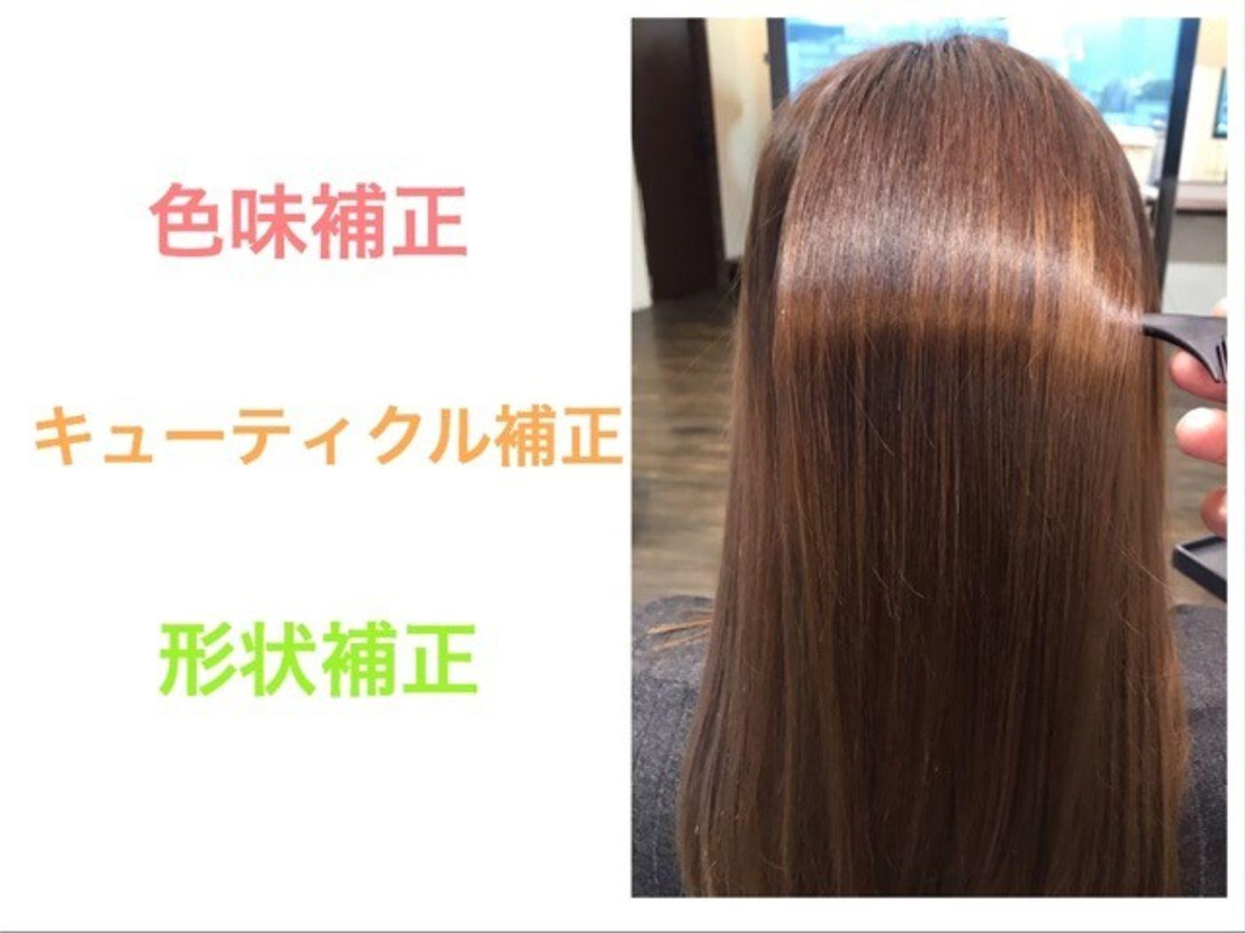 【髪質改善その②】美容技術で理想の形にする