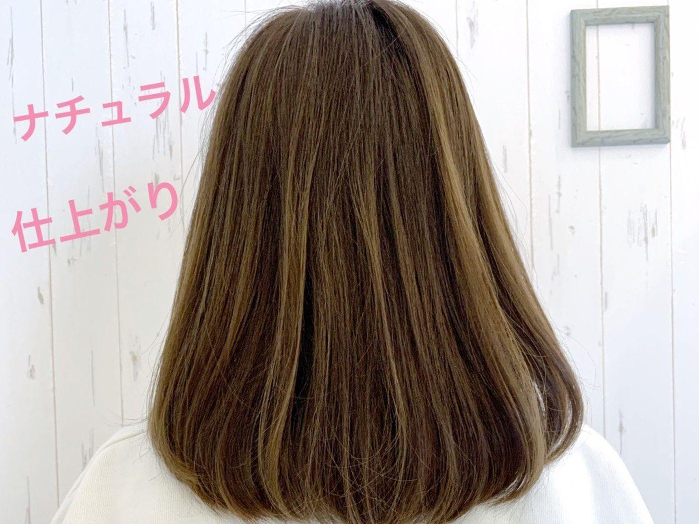 髪の癖を綺麗に馴染ませる髪質改善チューニング